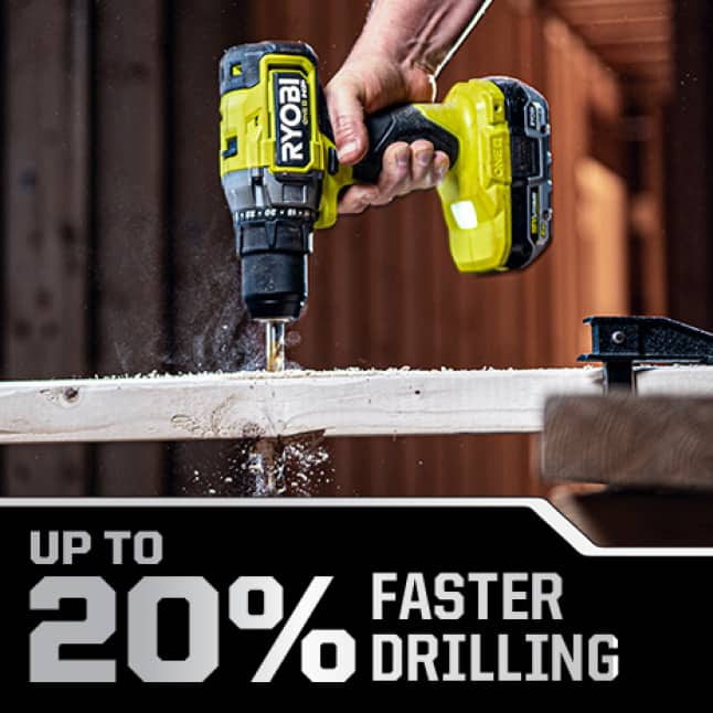 Up to 20% Faster Drilling