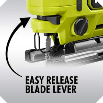 Easy Release Blade Lever