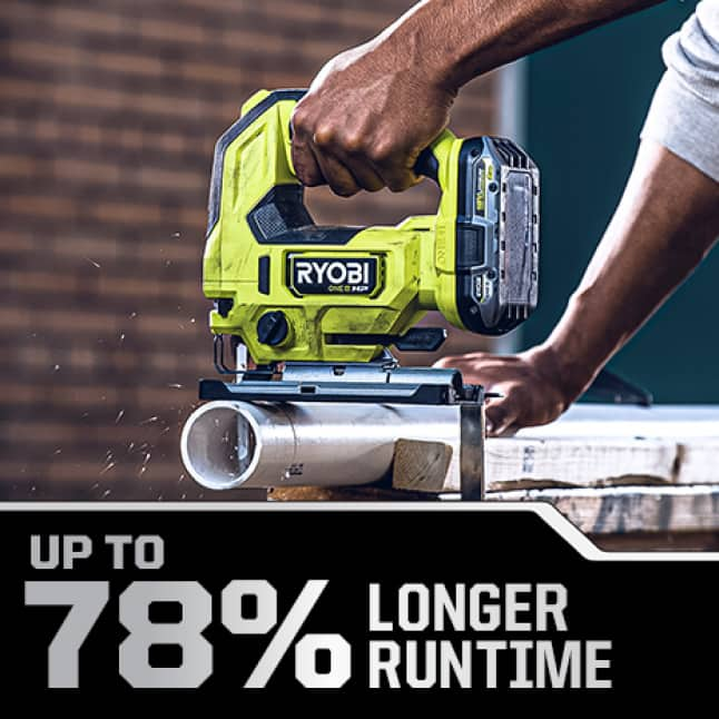 Up to 78% Longer Runtime