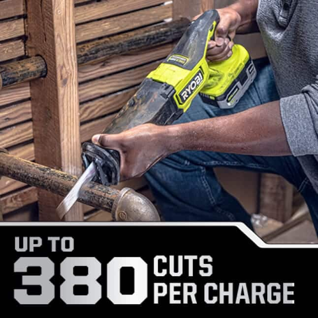 Up to 380 Cuts Per Charge