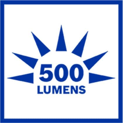 Inforgraphic 500 Lumens