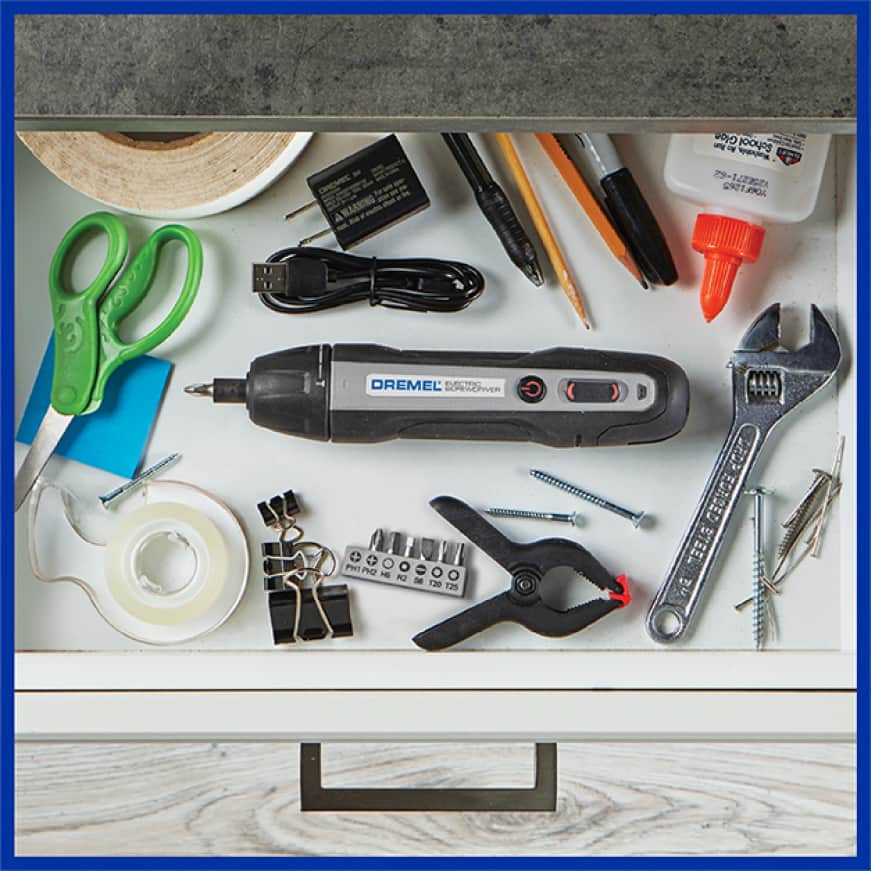 Image of tool in drawer