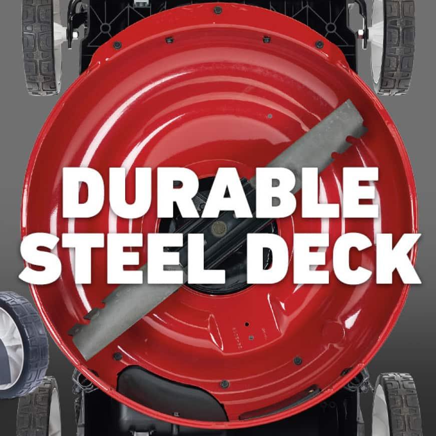 Durable Steel Deck
