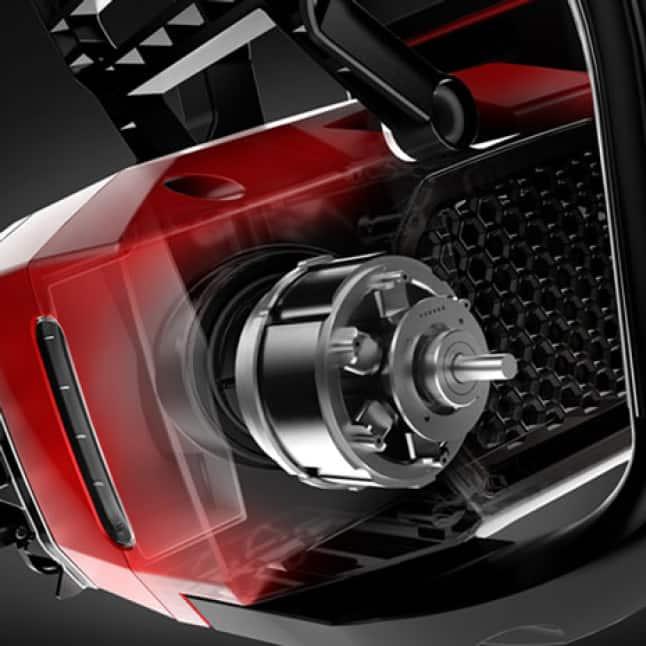 3D rendering of Brushless Motor with RunSmart