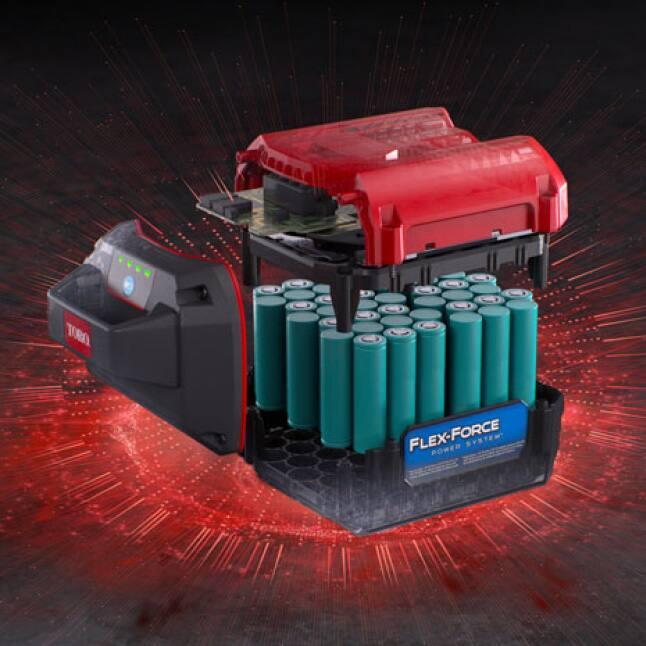 3D rendering of 60V battery