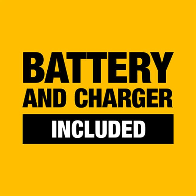 Includes two 20V MAX 10.0Ah Batteries, 2 Chargers, grass collection bag, grass chute and mower safety key.
