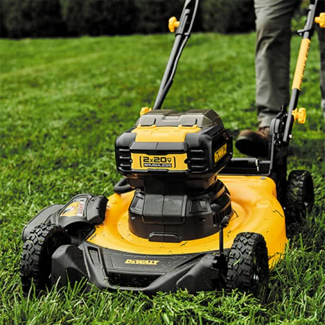 6 cutting heights that range from 1.5 in. to 4.5 in. to handle any size lawn