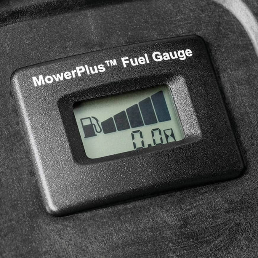 Image showing the new easy to read fuel gauge
