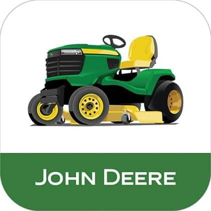 Image that shows the John Deere MowerPlus app