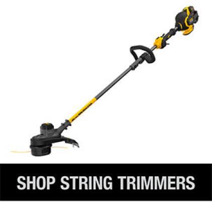 Shop the full line of DEWALT Cordless String Trimmers