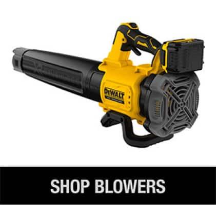 Shop the full line of DEWALT Cordless Blowers