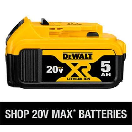 Shop all DEWALT 20V MAX Batteries