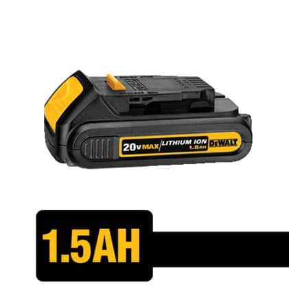 20V MAX and FLEXVOLT Batteries are Compatible with all DEWALT 20V MAX Tools.