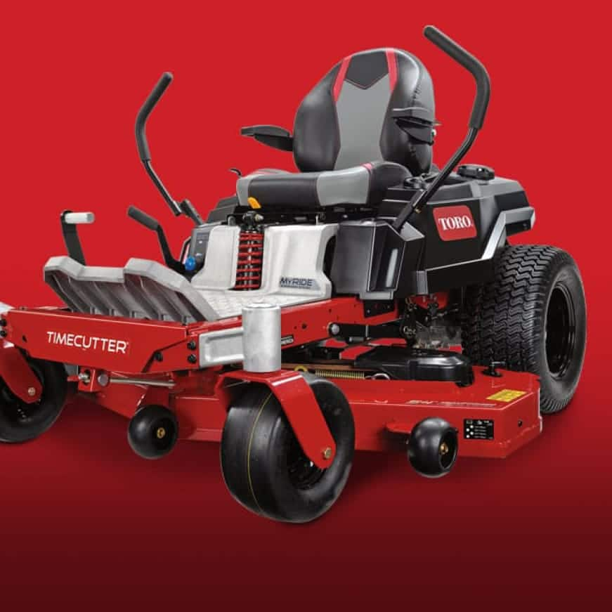 image of robust lawn mower