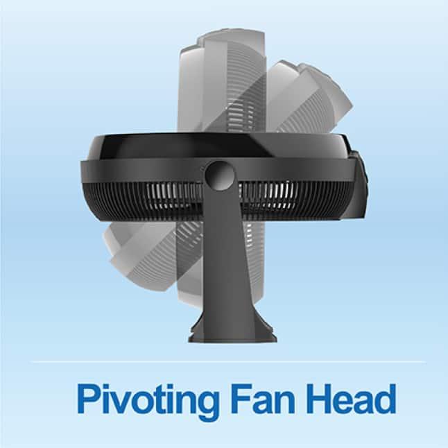 Pivoting Fan Head