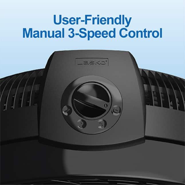 User-Friendly Manual Controls