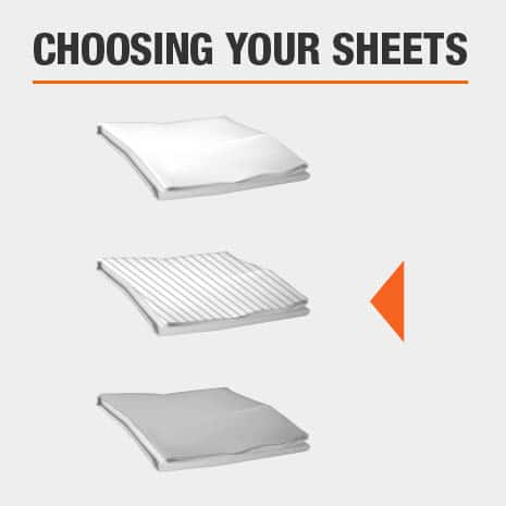 Follow the link to our guide on how to choose the best bed sheets