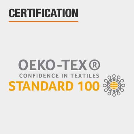 Bed Sheets are OEKO-TEX Standard 100 Certified