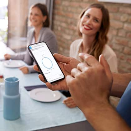 Bosch home connect application on phone