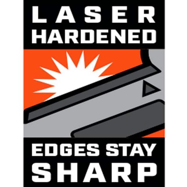 Laser Hardened Cutting Edges