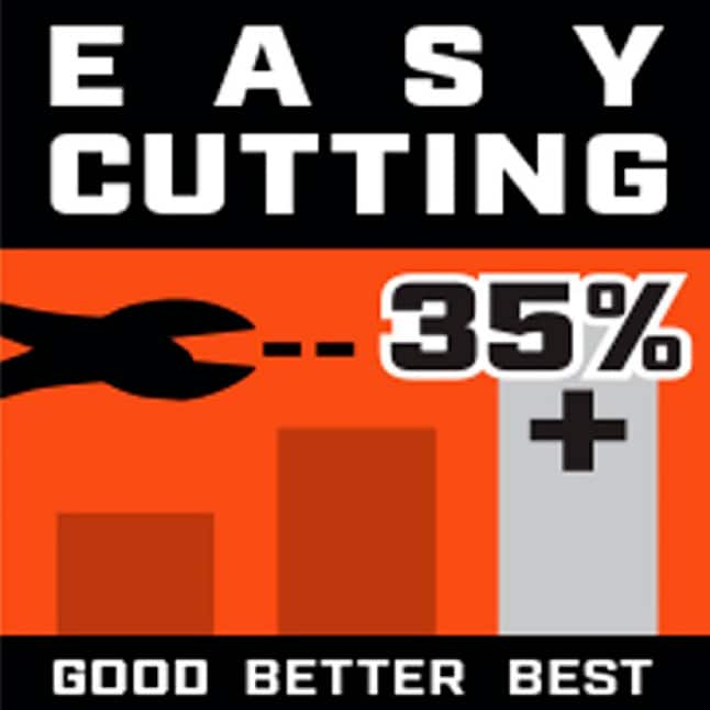 High Leverage for Easy Cutting