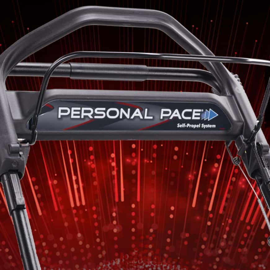 Personal Pace Self-Propel