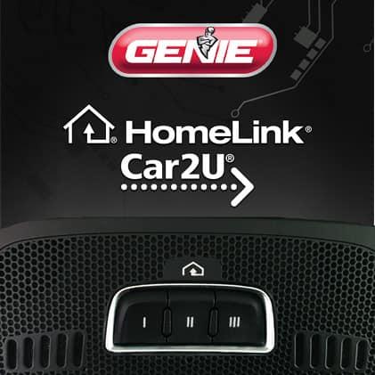 Genie 7155D - HomeLink is built-in