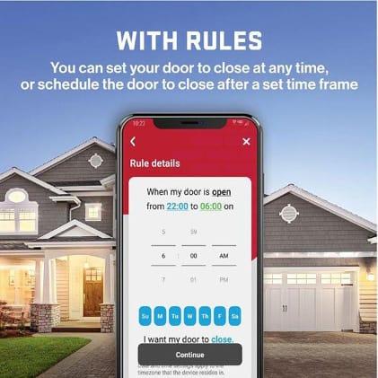7155D-TSV Virtual Keys Garage Door Opener Virtual Keys