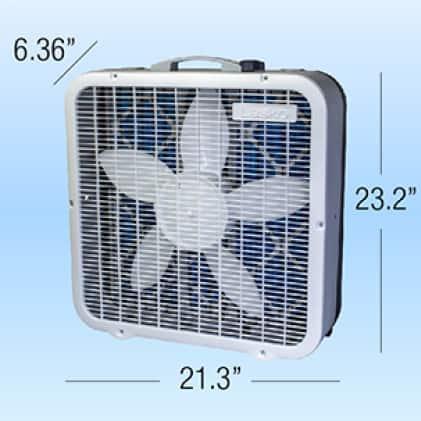 Lasko box fan is an ideal Size
