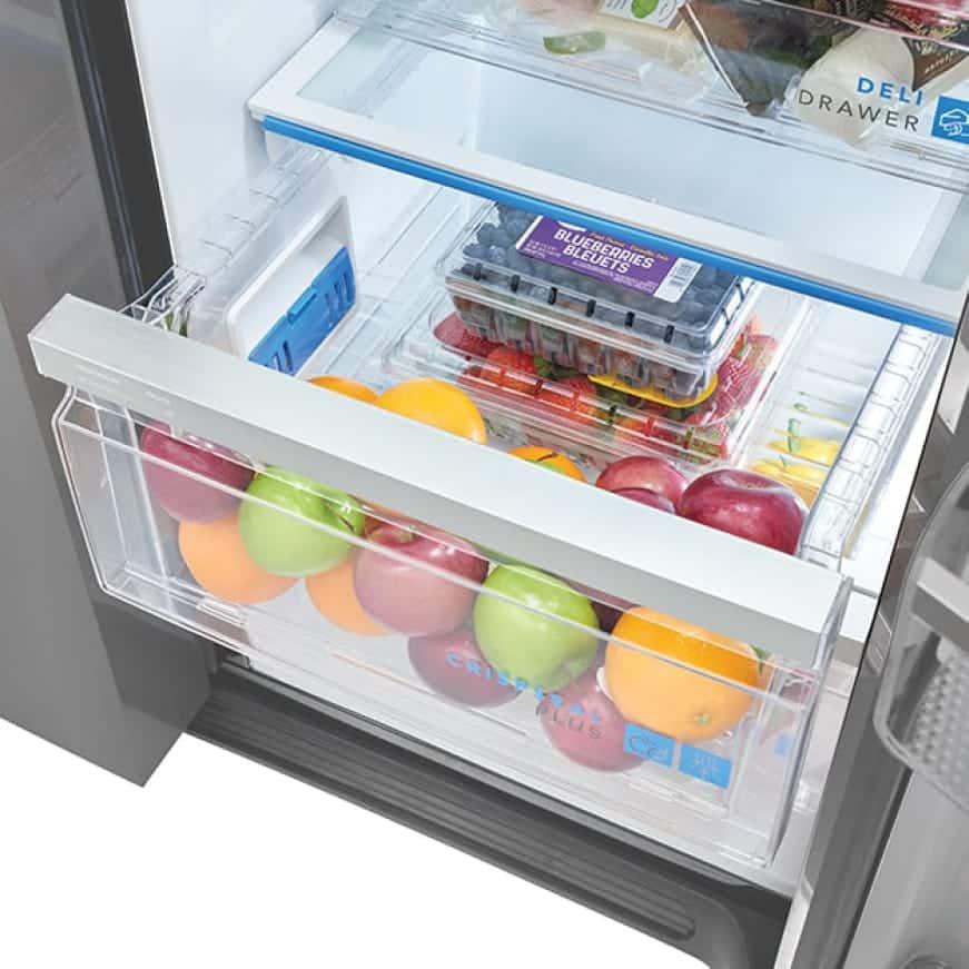 CrispSeal Plus crisper drawers