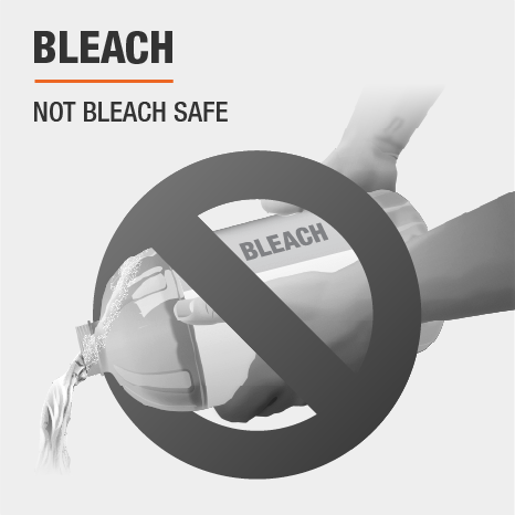 Not safe to use bleach in sprayer