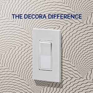 The Decora difference icon