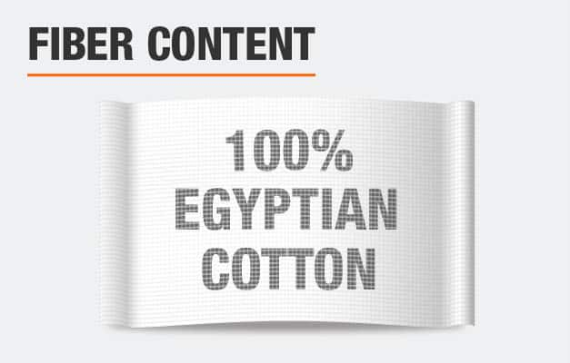 100% Egyptian Cotton Bed Sheets