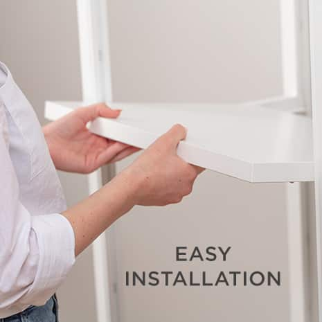 Image showing easy installation of closet system