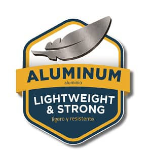 Made of Aluminum