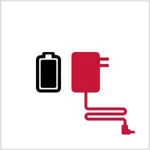 Battery and AC Adapter Icon