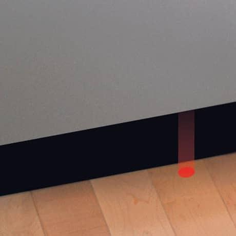 Bosch quiet dishwasher infolight 48dBA
