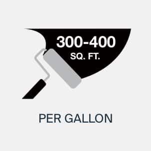 Wall Paint Coverage Up to Four Hundred Feet