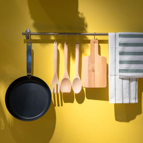 Yellow Kitchen Paint Clean Finish