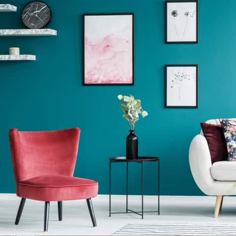 Light Blue Paint Color In Living Room