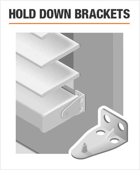 Hold Down Brackets