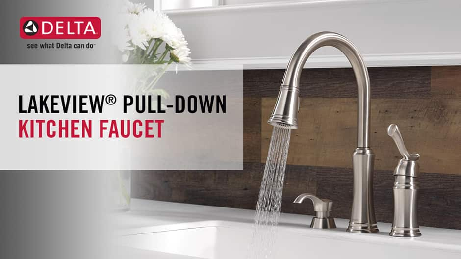 Lakeview Single-Handle Pull-Down Kitchen Faucet