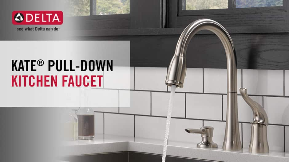 Kate Single-Handle Pull-Down Kitchen Faucet