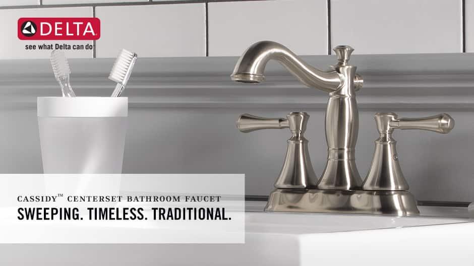 Cassidy 2-Handle Centerset Bathroom Faucet