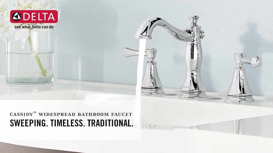 Cassidy 2-Handle Widespread Bathroom Faucet