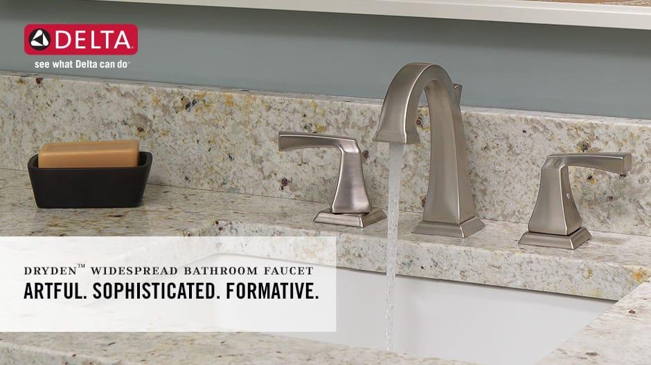 Dryden 2-Handle Widespread Bathroom Faucet