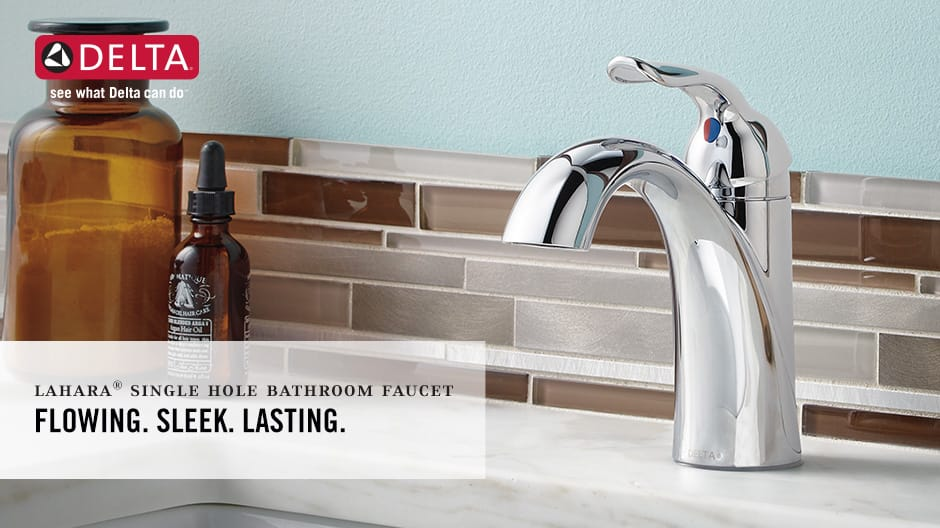 Lahara Single-Handle Bathroom Faucet with DIAMOND Seal Technology