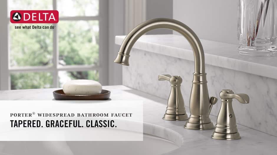 Porter 2-Handle Widespread Bathroom Faucet