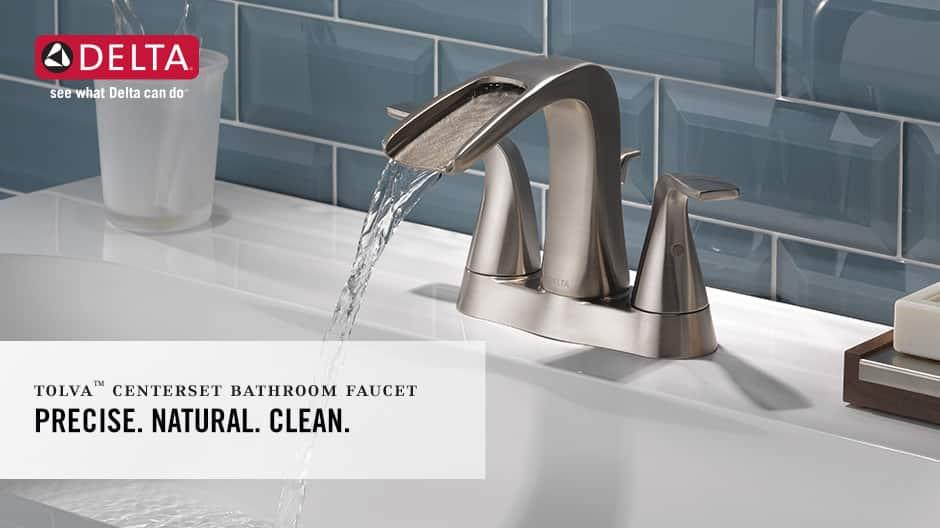 Tolva 2-Handle Centerset Bathroom Faucet