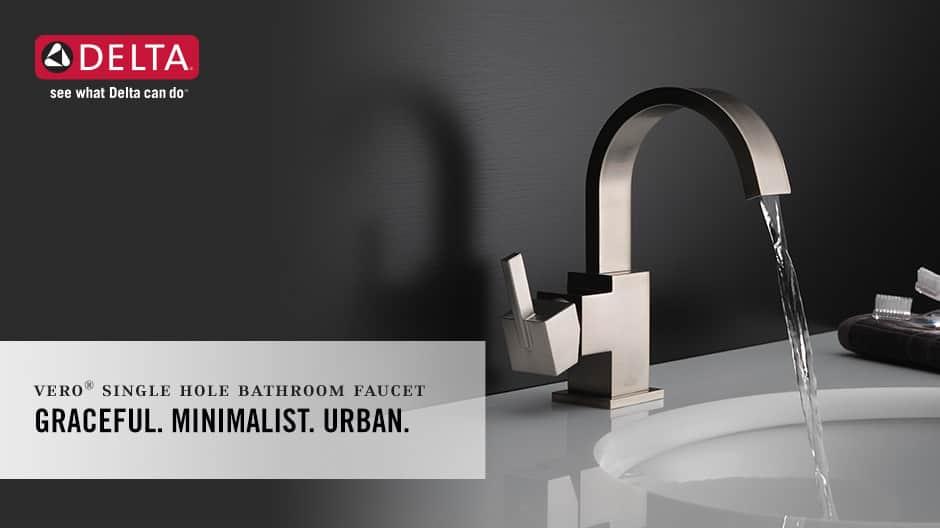 Vero Single-Handle Bathroom Faucet